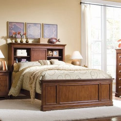 Elite Classics Bookcase Storage Bed