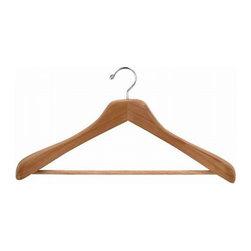Cedar Closet Ideas - Cedar Coat and Suit Hangers from Only Hangers.
