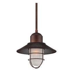 Millennium Lighting - Millennium Lighting 5392 Neo-Industrial 1 Light Industrial Pendant - Features: