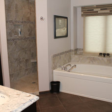 Traditional Bathroom by River Valley Kitchens and Baths