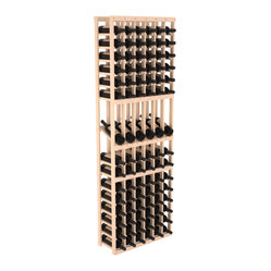 6-Column Display Row Wine Cellar Kit in Pine