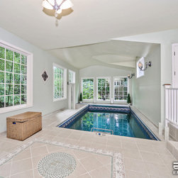 Original Endless Pools® - A sun-soaked Endless Pool® nook for fun, fitness, swimming, and entertaining, all year round!