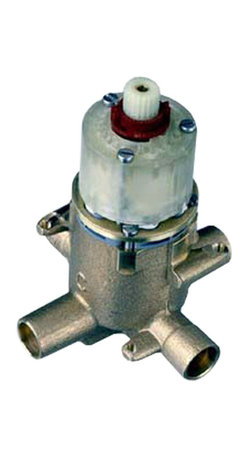 American Standard - Pressure Balance Rough Valve Body with Screwdriver Stops - American Standard R115SS Pressure Balance Rough Valve Body with Screwdriver Stops.
