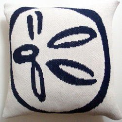 Higgins Beach Knit Throw Pillow - Inspired by Higgins Beach in Maine, this is a chic nautical motif designed to bring your seaside memories home. These pillows are perfect year-round ... whether for cool summer nights or in the winter by the fire! Ideal on your favorite chair. Coordinating throws available. 80/20 cotton/acrylic blend; machine washable. Made to order by Christen Maxwell in the USA