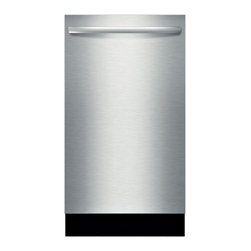 """Bosch 18"""" Fully Integrated Dishwasher, Stainless Steel 