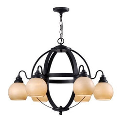 World Imports - World Imports WI527242 Magellen 6 Light Chandelier - Features: