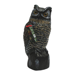 Easy Gardener - Easy Gardener Garden Defense Owl Multicolor - 555702 - Shop for Garden Equipment from Hayneedle.com! About Easy GardenerFor the past 25 years Easy Gardener has manufactured and distributed some of America's best-known lawn and garden products. Its leading brands include WeedBlock landscape fabrics Jobe's fertilizer spikes and tree care products ROSS root feeder and fertilizers Emerald Edge Fiber Edge and Ultra-Edge.Please note this product does not ship to Pennsylvania.