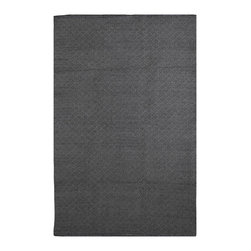 Fab Habitat - Fab Habitat - Indoor Cotton Rug - Karma - Black & Gray, 2' X 3' - Fab Habitat brings you a stylish collection of rugs made from recycled cotton. These handcrafted flat weave cotton rugs have subtle elegance with simple and classic designs. They are perfectly suited to bring comfort to a modern space. The rugs are made to withstand everyday use and are extremely easy to take care of. These rugs are made using sustainable practices and dyes, which are safe for the environment.
