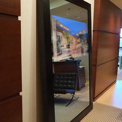 In-Mirror TVs (lobby/waiting rm) -