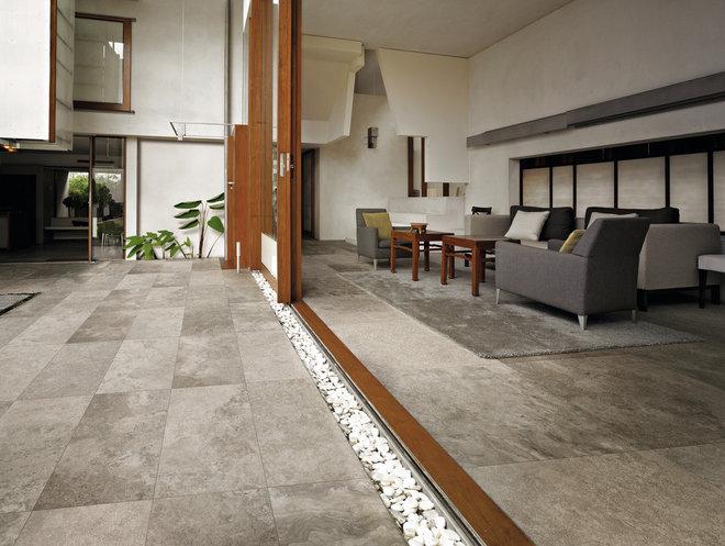 Modern Floor Tiles by Tiles Limestone Ltd