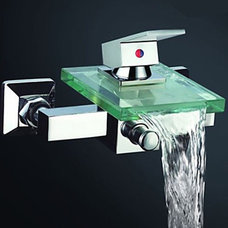 Modern Bathtub Faucets by faucetsuperdeal