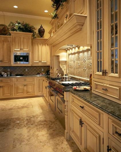 Mediterranean Kitchen Cabinetry by Tradewind Designs, Inc.