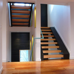 modern staircase by Studiobuild