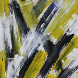 As It Happens, Original, Painting - Abstract, free moving gestural brush strokes. Vivid color and provocative.