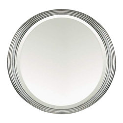 Alno Inc. - Alno Creations Antique Pewter Oval Mirror 2002-152 - Alno Creations Antique Pewter Oval Mirror 2002-152
