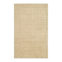 Safavieh - Carrie Hand Loomed Rug, Beige 9' X 12' - Construction Method: Hand Loomed. Country of Origin: India. Care Instructions: Vacuum Regularly To Prevent Dust And Crumbs From Settling Into The Roots Of The Fibers. Avoid Direct And Continuous Exposure To Sunlight. Use Rug Protectors Under The Legs Of Heavy Furniture To Avoid Flattening Piles. Do Not Pull Loose Ends; Clip Them With Scissors To Remove. Turn Carpet Occasionally To Equalize Wear. Remove Spills Immediately. The casual allure of contemporary Tibetan carpets is recalled in Safavieh's rich and textural Himalaya Collection. Loomed by hand in India of 100 percent wool in a range of heathered solids, transitional stripes and subtle plaids, each rug in the collection.