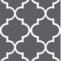 Surya - Surya Mamba MBA-9063 (Grey, Light Grey) 5' x 8' Rug - The rugs in Mamba collection are truly unique. Fun patterns in vibrant colors, these rugs are hand tufted from 100% polyester making the soft and durable. Add one to any space to give it a special personality.