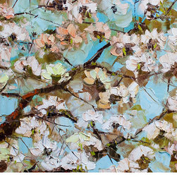 Brilliant Imports : The Bali Collection ~ Rare Finds - DETAIL OF SAKURA PAINTING