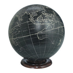 """Authentic Models - Authentic Models Base For Globes - Keep your globes securely fit in one of our bases such as bronze, wood or aluminum. It will surely add a touch of elegance to your globe as well as to your home decor. These stands together with one of our AM globes can make a wonderful and appreciative gift for a historian, world traveler or scientist. Dimensions: 4.25"""" Width x .5"""" Height."""