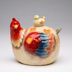 """ATD - 5.25"""" Chicken with Chick Top Tealight Candle Holder with Heart Cut Out - This gorgeous 5.25"""" Chicken with Chick Top Tealight Candle Holder with Heart Cut Out has the finest details and highest quality you will find anywhere! 5.25"""" Chicken with Chick Top Tealight Candle Holder with Heart Cut Out is truly remarkable."""