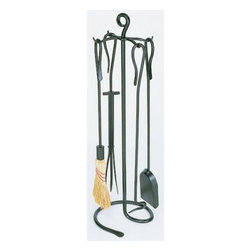 Minuteman Intl. Shepherd's Hook Fireplace Tool Set - About MinutemanMinuteman International began in 1977 with a focus on necessities for wood stoves including steamers kettles and fireplace gloves. Since that time the company has expanded to include home and garden birding supplies and hearth and fireplace accessories.Minuteman emphasizes unique hand-forged wrought iron European designs for the hearth and fireplace. Bellows andirons firebacks and wood baskets are all part of the selection. Most recently Minuteman acquired Adams Fireplace Accessories furthering their selection of high-quality fireplace items.The fireplace and hearth has always been a focal point in homes. It is where we gather to warm our hands our feet our souls. Minuteman International brings the perfect accessories to complement any fireplace adding to the ambiance of warmth and family.