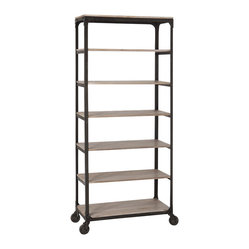 Faust Rolling Shelving Unit