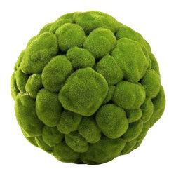 Cyan Design - Cyan Design Large Moss Sphere in Moss Green - Large Moss Sphere in Moss Green