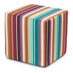 Missoni Home - Missoni Home   Nacimiento Cube Pouf - Design by Rosita Missoni.