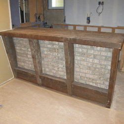 Reclaimed Wood Bar -