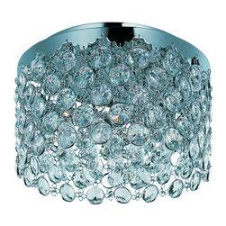 ET2 - ET2 E21150-20PC Dazzle 3-Bulb Flush Mount Indoor Ceiling Fixture - Product Features: