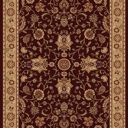 """Home Dynamix - Home Dynamix Rug, Brown, 5' 2"""" x7' 2"""" - The Madlena Collection by Home Dynamix."""