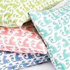 Eclectic Decorative Pillows by Rikshaw Design