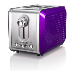 Bella 13744 Dots Collection 2-Slice Toaster, Purple - I didn't even know you could buy a purple toaster! Have I been living in a cave? I love all of the personality in this cutie.