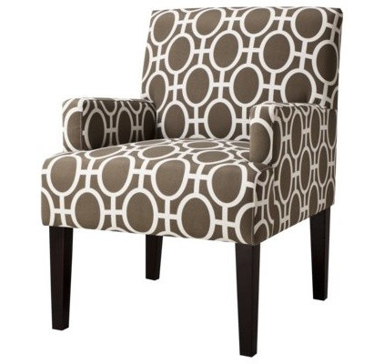 contemporary armchairs by Target