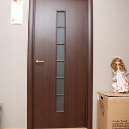 """Modern Interior Doors - """"Nova"""" - MDF modern apartment interior door. $190 for the full set: door slab and door frame."""