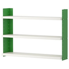 contemporary wall shelves by IKEA