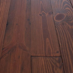 Authentic Pine Floors, Inc. - Engineered Antique / Reclaimed Heart Pine Prefinished Sample Box - Every prefinished floor is produced when ordered, so your floor will be made for you.