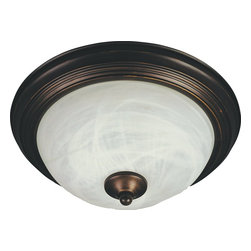 Maxim Lighting - Maxim Lighting Flush Mount ES Traditional Flush Mount Ceiling Light X-IORM24858 - Maxim Lighting's energy efficiency commitment to both the residential lighting and the home building industries will assure you a product line focused on your basic lighting needs. With the Flush Mount EE collection you not only will find quality lighting that is well designed, well priced and readily available, but also energy efficient featuring energy saving fluorescent lighting that saves money and allow for low maintenance.