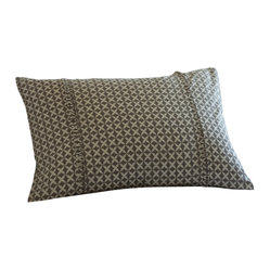 Charleston Grey Boudoir Pillow