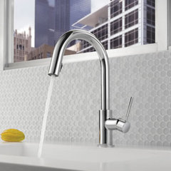 kitchen faucets by Jamie Gold, CKD, CAPS