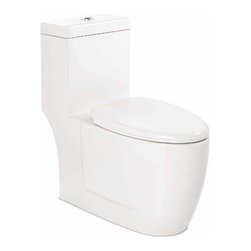 Neptune | Zen One-Piece Toilet with Dual Flush System -