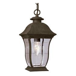 Trans Globe - Trans Globe 4974 WB 1-Light Hanging Lantern - Trans Globe 4974 WB 1-Light Hanging Lantern