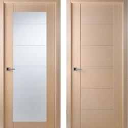 Maximum 209 & Maximum 201 Bleached Oak Interior Doors - Modern Interior Doors / Contemporary Interior Doors