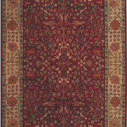 """Karastan - Karastan Antique Legends 2200-00204 (Emperors Hunt) 8'8"""" x 10' Rug - 'Antique Legends' is a breathtaking collection of Axminster rugs with a 'vintage' finish. Styling is based on some of Karastan's...and the world's...most legendary antique carpet designs, yet the interpretation is fresh; and the colors are perfect for today's eclectic interiors. Karastan designers, utilizing multiple shades of a color within the design motifs, painstakingly recreate the 'abrash' or stria effect often found in aged vegetable dyes. After weaving, 'Antique Legends' rugs are given a special antique wash to further harmonize the colors with a rich 'vintage' patina."""