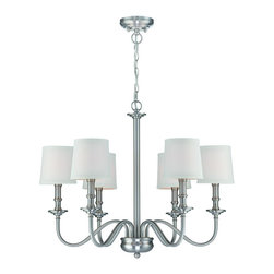 Lite Source - Sampson 6 Light Single Tier Chandelier - To put it plainly and simply, Lite Source is a quality manufacturer of a vast selection of both beautiful and affordable interior lamps, not to mention a small number of other household items.