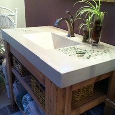 Asian Bathroom Vanities And Sink Consoles by Coates Custom Design