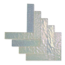 Neve Winterscape Glass Tile - Sample-Neve Winterscape 2x8 Glass Tile Pattern 1 Piece Sample Please note you are purchasing 1 piece sample. -Glass Tiles -