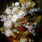 Still Life with Flowers | Huysum | Canvas Print - Condition: Canvas Print - Unframed