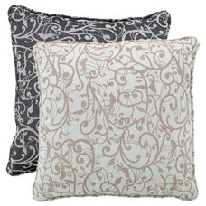 contemporary pillows by Wrapables