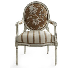 traditional armchairs by Neiman Marcus